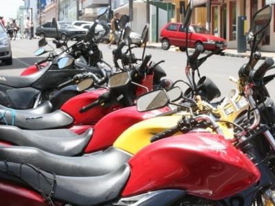Menos acidentes com motos em Santiago. Foto: Ieda Beltrão